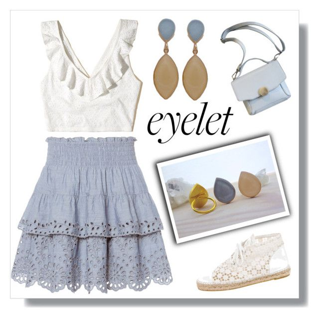 Eyelet - Evangelos Jewellery by evanangel on Polyvore featuring polyvore fashion style Hollister Co. St. Roche Chanel clothing