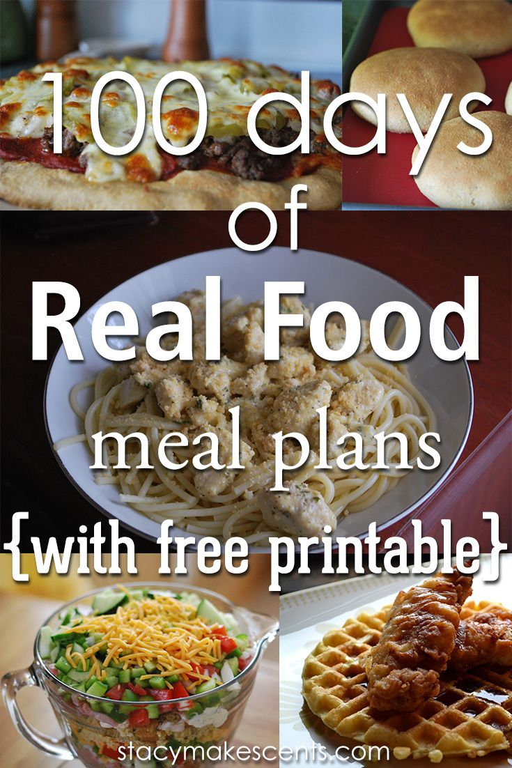 Over 3 months worth of meal plans all laid out for you! No thinking on your part. Just shop and cook!