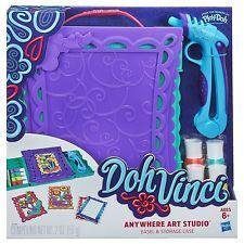 DohVinci Anywhere Art Studio Easel & Storage Case Set Kids Doh Vinci Vinchi Arts