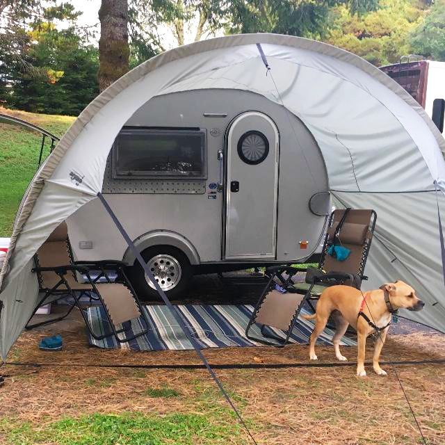 The T B 320 Awning Is The Perfect Addition To Your Camper Dog Approved Motorcycle Camping Gear Motorcycle Camping Camping Gear