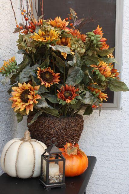 Fall Autumn tabletop decor