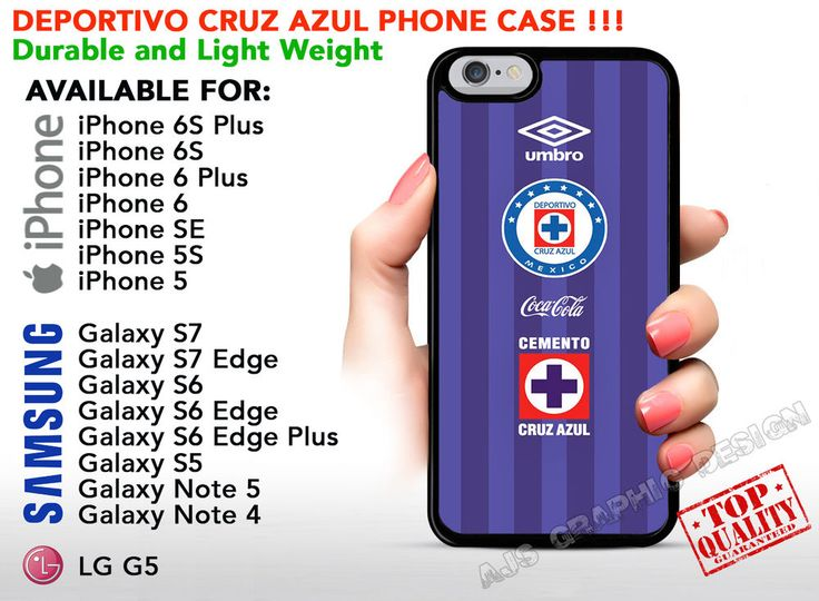Deportivo Cruz Azul Phone Case for iPhone Samsung Cover Soccer Liga MX Jersey