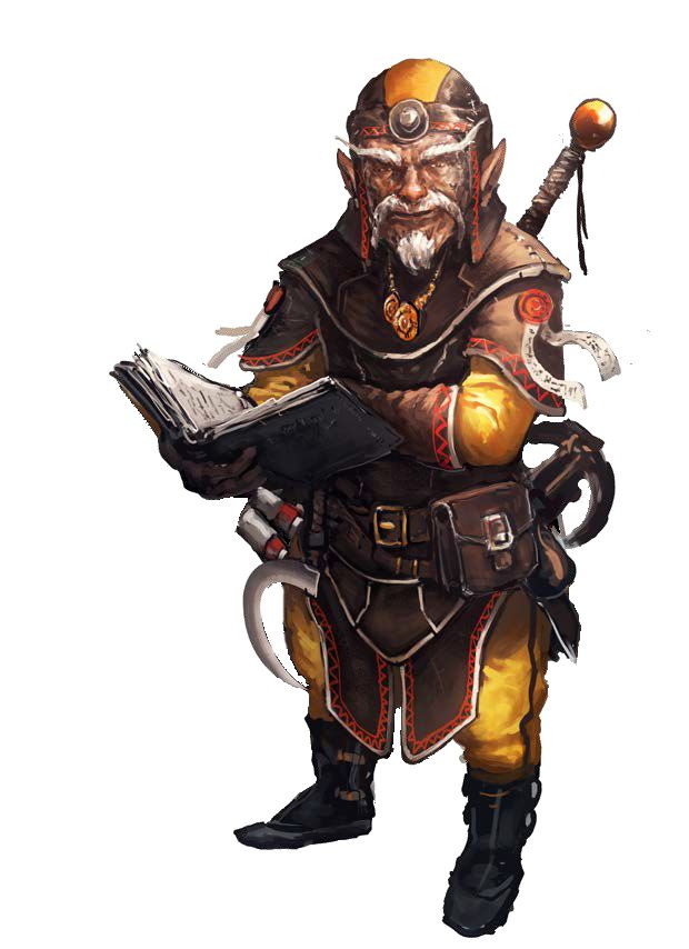 m Gnome Wizard Fighter multi-class Leather Magic Book Sword Sickle Hand  Crossbow Sword gnomo d&d