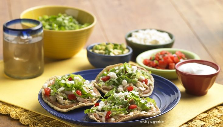 Chalupas Poblanas (Puebla-Style Chalupas)  With their crispy exterior and soft interior, chalupas are one of the most popular snacks in Central Mexico, and they're made even more delicious with the tangy heat of HERDEZ® Salsa Verde.