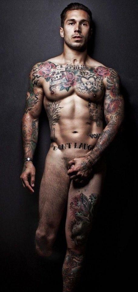 Sexy tattooed guys nude