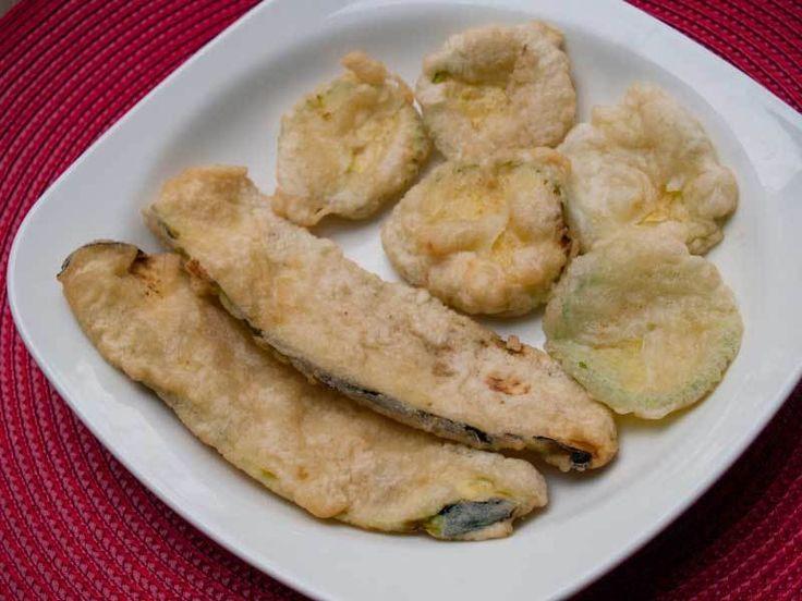 Sodalı Kabak Ve Patlıcan Kızartması                        -  Dilek Erol #yemekmutfak
