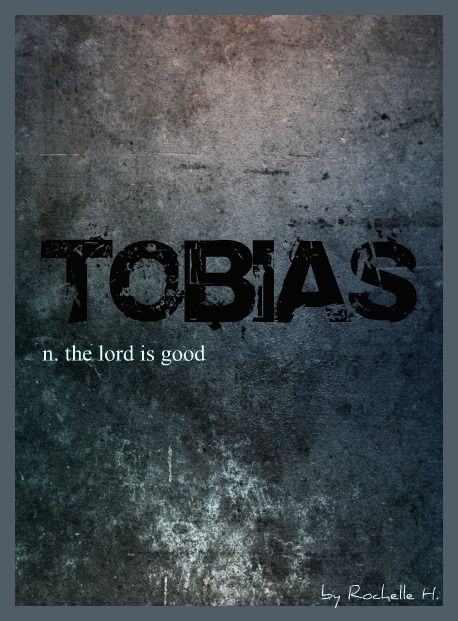 Baby Boy Name: Tobias. Meaning: The Lord is Good. Origin: English; German; Hebrew; Greek.  http://www.pinterest.com/vintagedaydream/baby-names/