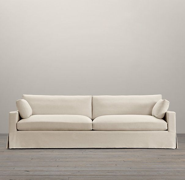 Belgian Track Arm Slipcovered Two Cushion Sofas Restoration Hardware Home In 2018 Pinterest Sofa Cushions On And