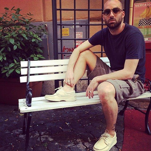 #sunglasses #tods #tshirt #vintage55 #shorts #wlggiorgiobrato #shoes #visvim