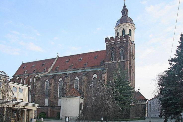 Opava - katedrála Nanebevzetí Panny Marie. národní kulturní památka ČR-autor Prazak