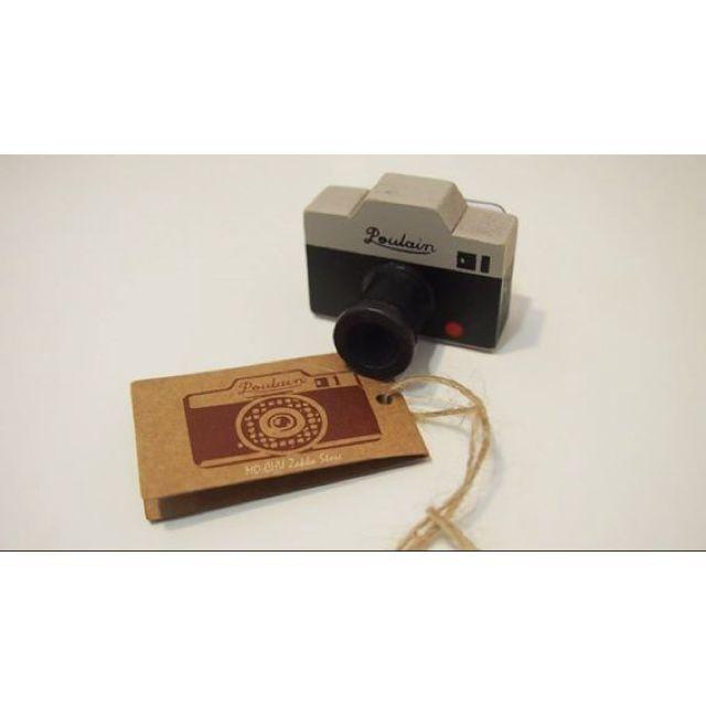 ✿ Zakka Vintage Camera Rubber Stamp ✿ on Carousell