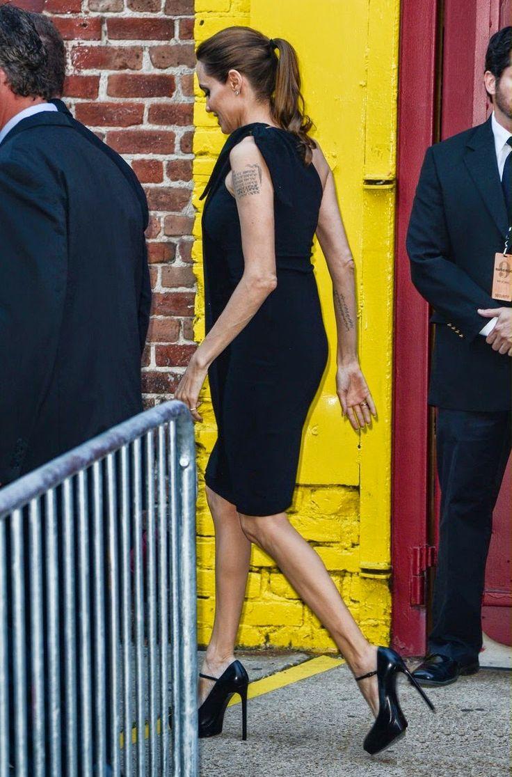 Fãs de Angelina Jolie: Angelina Jolie e Brad Pitt vão a evento de caridade em Nova Orleans