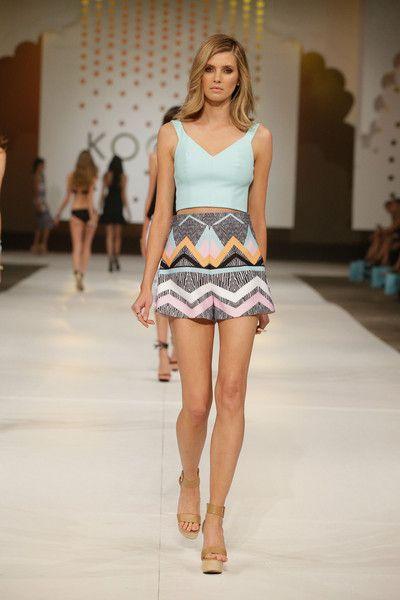 Zoe Crop top, Copacabana Shorts, Dreamweaver Wedge
