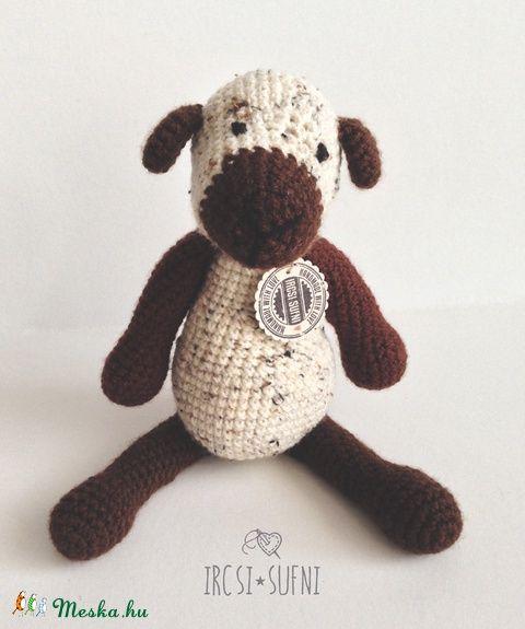 Meska - Horgolt bárány ircsisufni kézművestől #crochet #crochettoy #lamb #babytoys