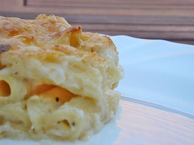 Csőben sült sajtos penne – majdnem sajtos makaróni by Rachel Allen