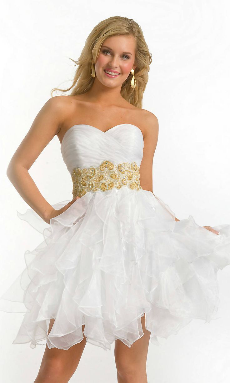 48 best White Prom Dresses images on Pinterest | White prom ...