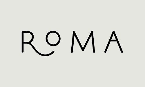 Type logo. Simple and fun.