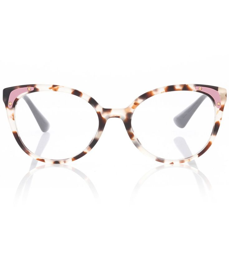 20a9f6ffd0ae Prada - Tortoiseshell cat-eye glasses - Vintage-style glamour gets a  contemporary update with Prada s interpretation of cat-eye glasses.