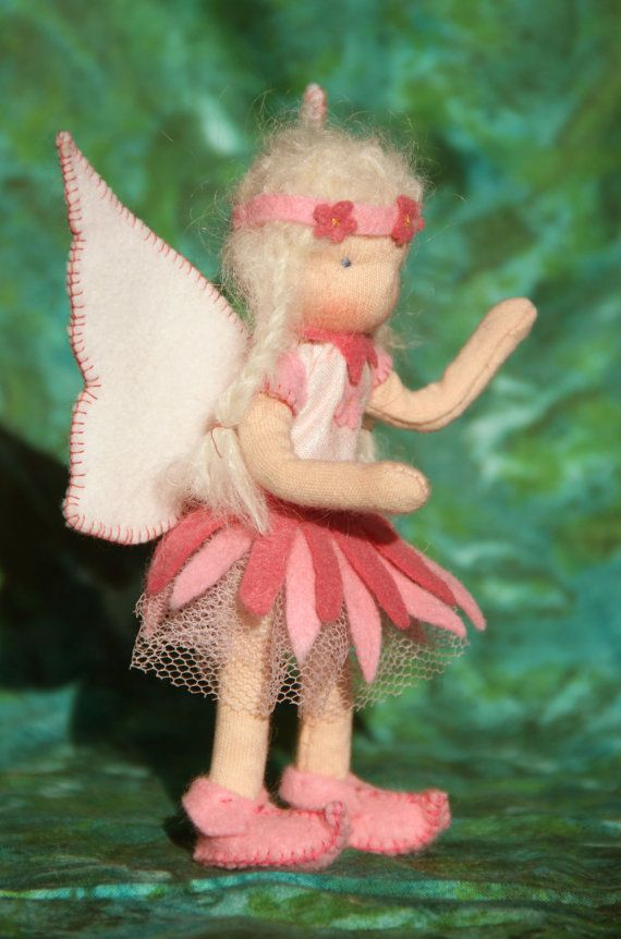 Custom order LIttle fairy 55 Waldorf style by ElineDolls on Etsy, $30.00
