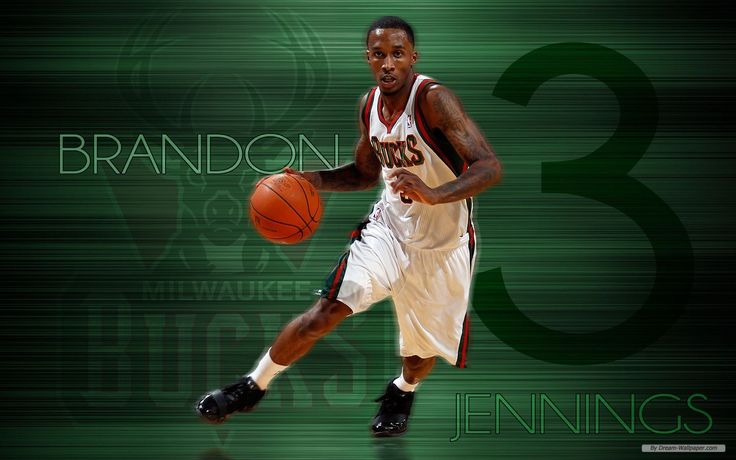 brandon jennings milwaukee bucks wallpapers