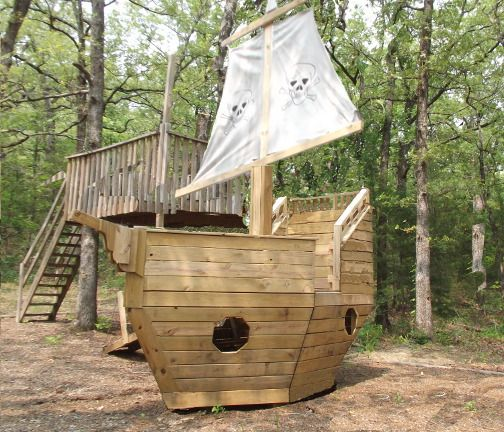 17 images about pirate tree house on pinterest play for Boat playhouse plans