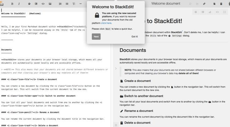 https://github.com/benweet/stackedit/  StackEdit is a free, open-source Markdown…