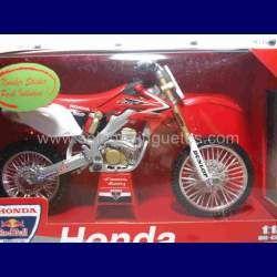 Honda CRF450R escala 1/12 New ray moto en miniatura