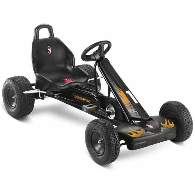Puky GoKart F1 L är en trampbil i toppklass för barn som gillar att tävla eller att köra racing och för alla barn som gillar att leka, motionera och upptäcka världen på egen hand.  Trampbilen är lämpad för barn från 6 år. Denna trampbil i klassisk gokart design är utrustad stabil ramkonstruktion och frihjulsfunktion vilket gör att man kan köra både framåt och bakåt, dessutom behöver handen inte tas ifrån ratten så att båda händerna kan hålla i ratten.  Ramkonstruktionen på trampbilen är…