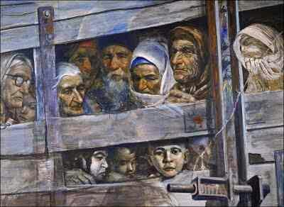 At 5 am on May 18, 1944 absolutely all Crimean Tatars were deported from Crimea. 46 % died due to the related reasons