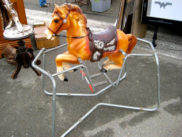 16 Best Vintage Ride On Toy Horses Images On Pinterest