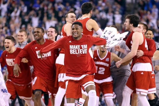 March Madness 2015: Updated Bracket, Championship Odds and Schedule March Madness  #MarchMadness
