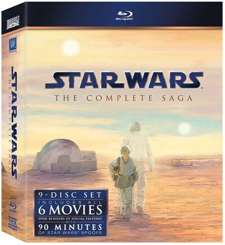 Star Wars - den komplette Saga (9 disc) (Blu-ray) (Blu-ray)