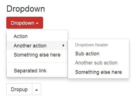 A jQuery plugin that extends the default Bootstrap dropdown component to create a multi-level dropdown with unlimited sub menus.