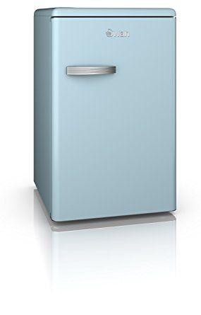 Swan Products SR11030CN Retro Larder Fridge, Cream: Amazon.co.uk: Large Appliances