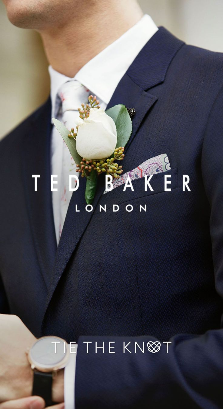 GROOMS: Ted wants to make sure you look sharp on your wedding day with one of his finest suits. Book your complimentary consultation and fitting at one of his new bridal boutiques and enjoy one-to-one styling advice and glasses of bubbly for you and your wedding party. #WedWithTed @tedbaker