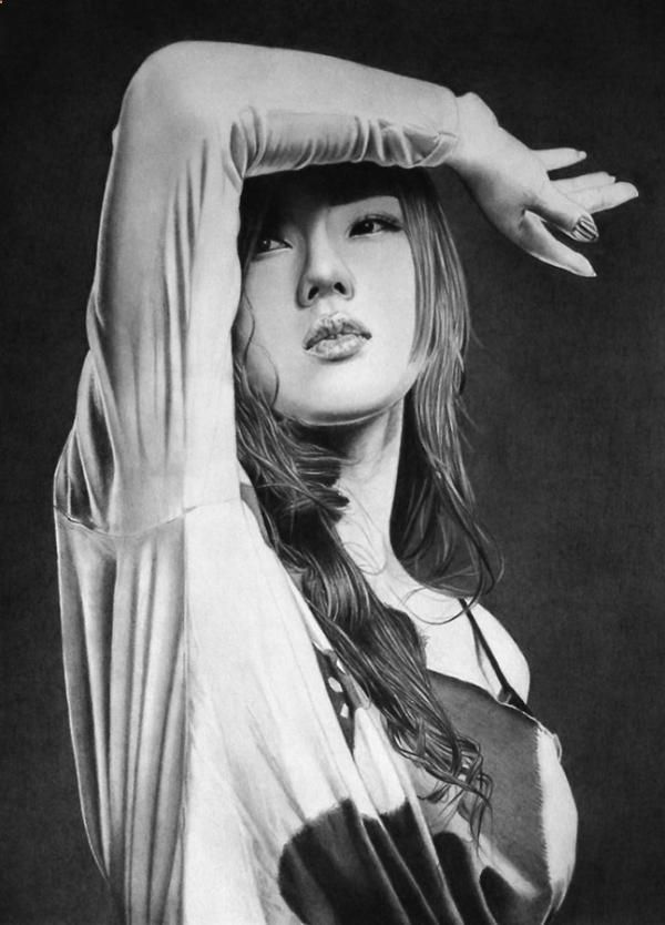 Pencil Portrait Mastery - Ken Lee is a budding portrait artist from the UK. His pencil portraits perfectly captures the essence of his subjects, be it sensuality, passion, or innocence. - Discover The Secrets Of Drawing Realistic Pencil Portraits