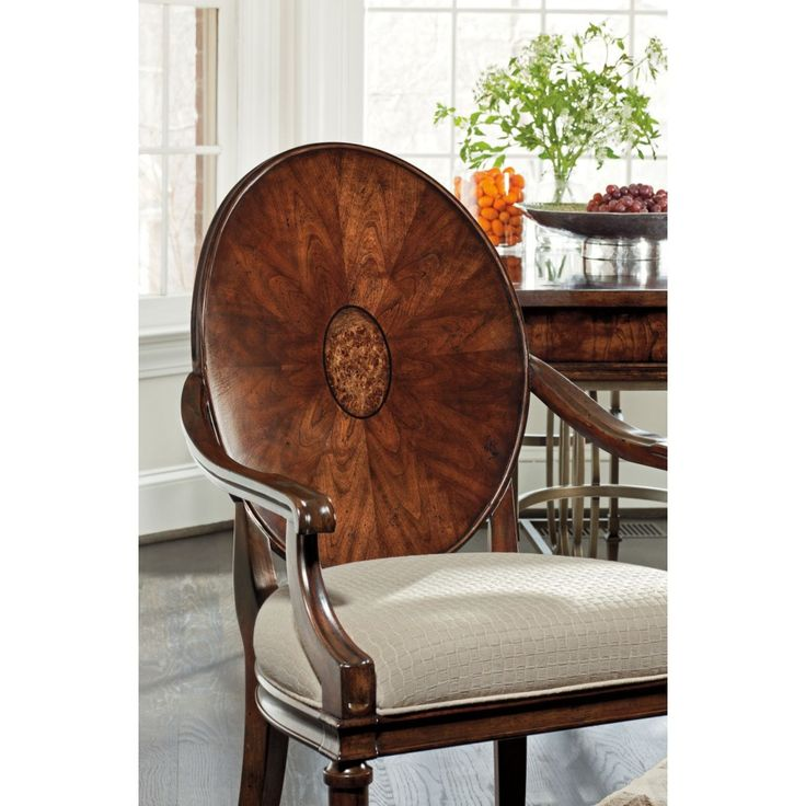Art Deco Furniture | Mapa Burl Chair and Art Deco Furniture | Colorado Style Home ...