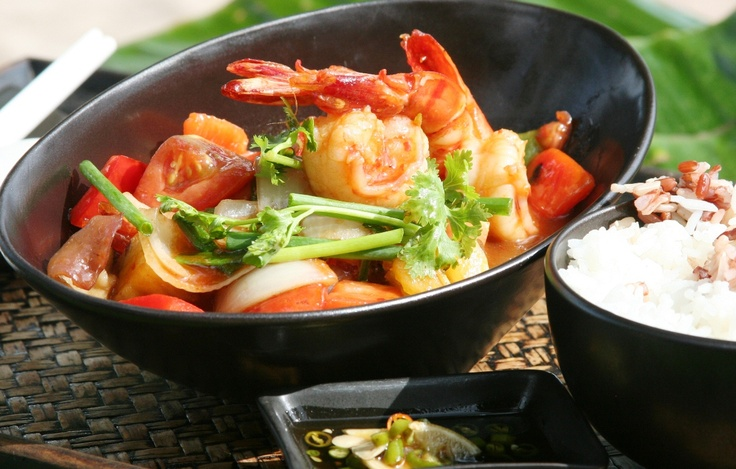 Sweet and Sour Prawns