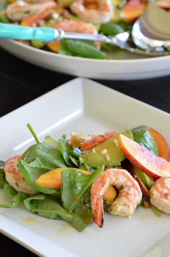 Elegant summer lunch, with one large nectarine that smells like summer - an elegantly worded recipe too