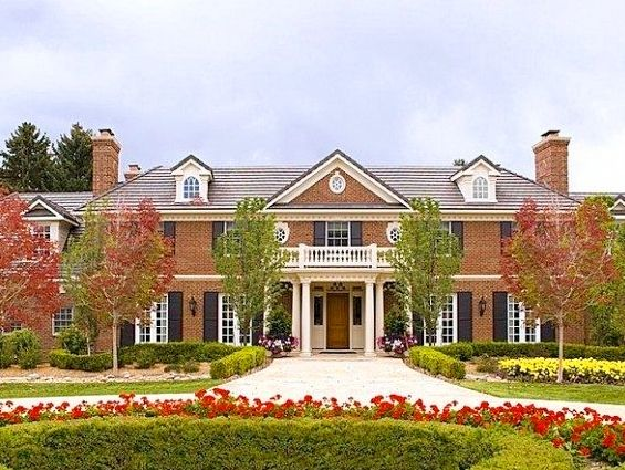 A Look Inside Peyton Manning's New Denver House - Mountain Living - July 2012