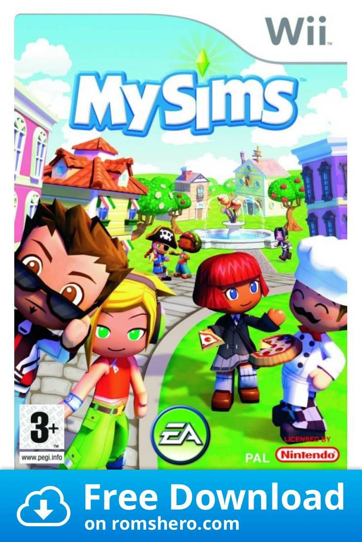 Download MySims Nintendo Wii (WII ISOS) ROM in 2020
