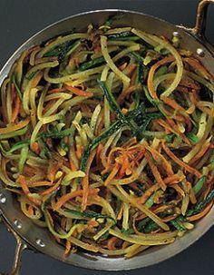 spaghettis de légumes Plus Plus