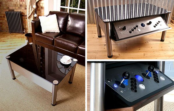 Arcade Coffee Table Build Woodworking Projects Plans