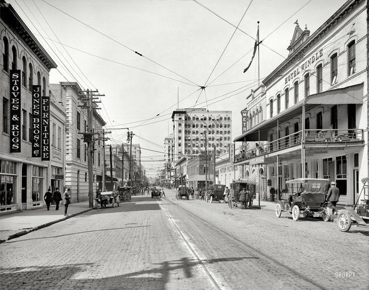 Jacksonville Florida Circa 1910 Quot Forsyth Street West