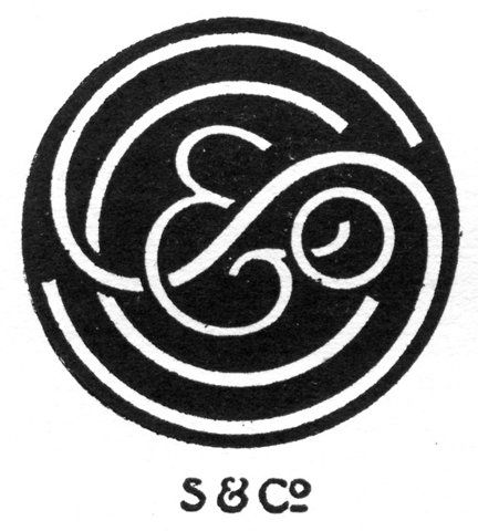 S & Co: Design Collection, Circles Ampersand, Turbayn Monograms, Inspiration, Logos Design, Graphics Design, Typography, S Logos, Letters