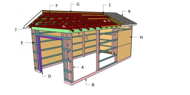 12x24 pole barn plans free pdf download myoutdoorplans