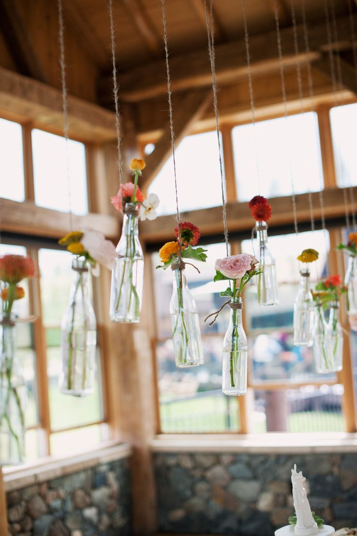 Adorable coke bottle vases  Photography By / http://brintonstudios.com,Floral Design By / http://sweetpea-flowers.com