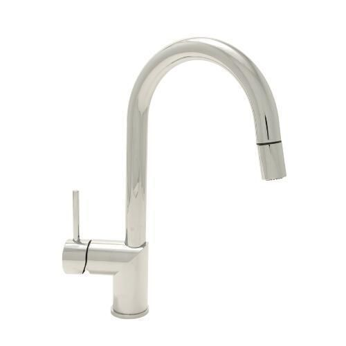 Mirabelle Ravenel Pull Out Spray Kitchen Faucet   Polished Chrome