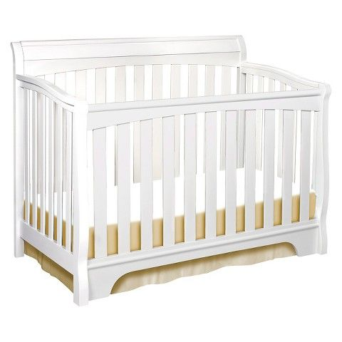$249.99 - Delta Eclipse 4-in-1 Convertible Crib - White