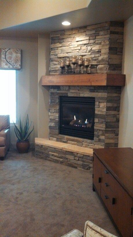 44 best Basement Fireplace images on Pinterest | Basement ...